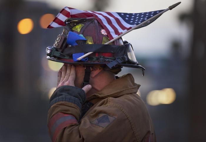 Cerimonia in ricordo delle vittime dell'11 Settembre