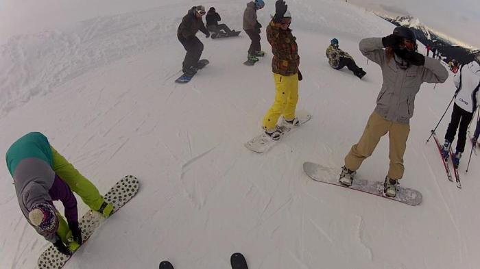 snowboard life amiche cavalese